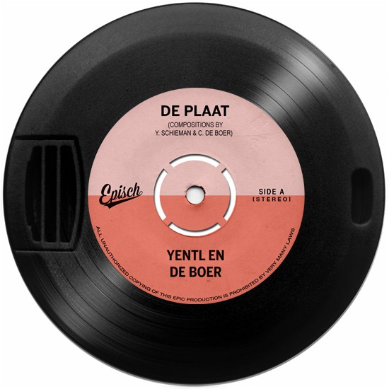 De Plaat — Yentl en de Boer (CD op USB-stick)