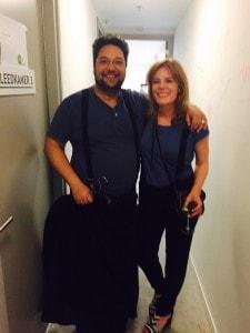 Mike Boddé en Christine de Boer