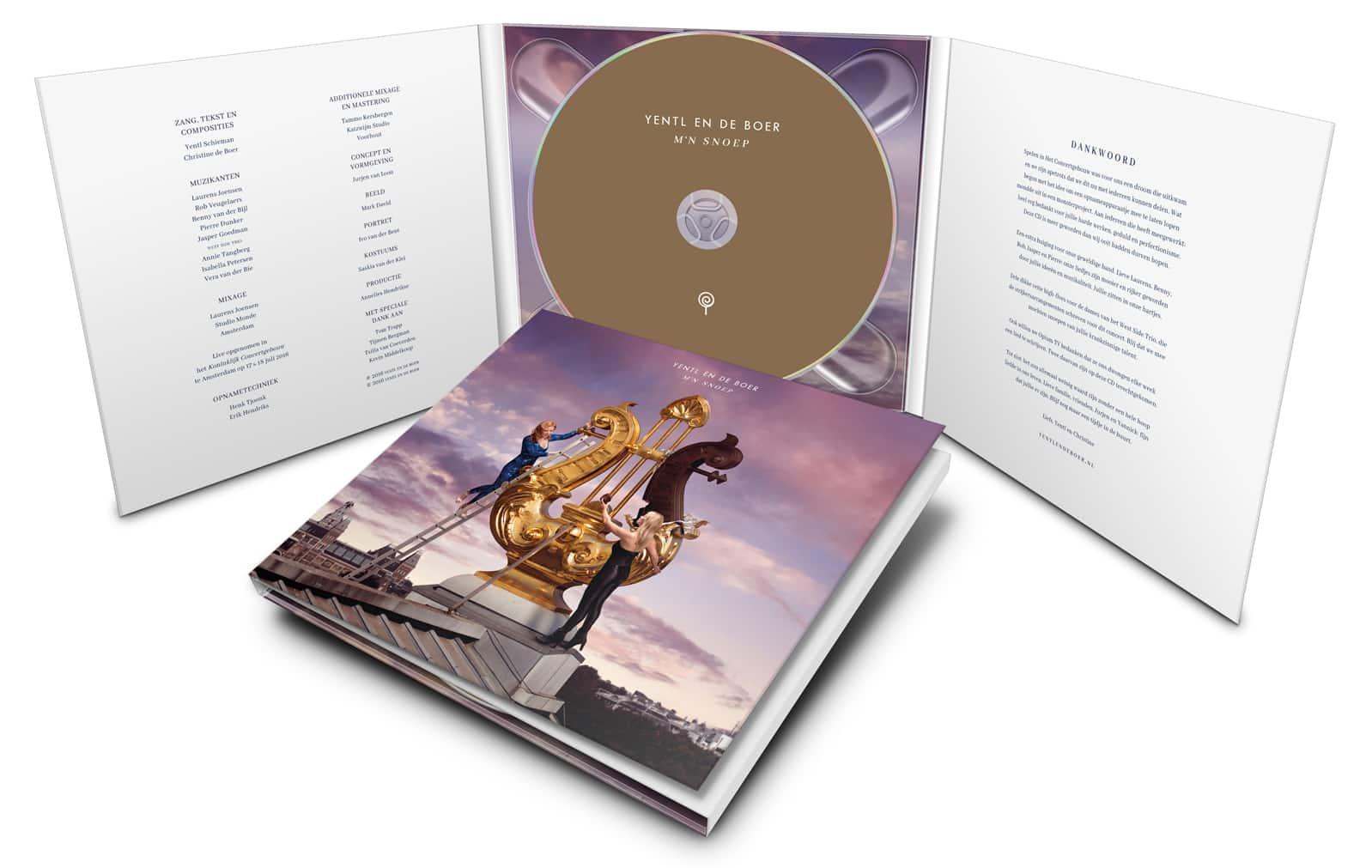 Digipack CD M'n snoep: Live in Het Concertgebouw