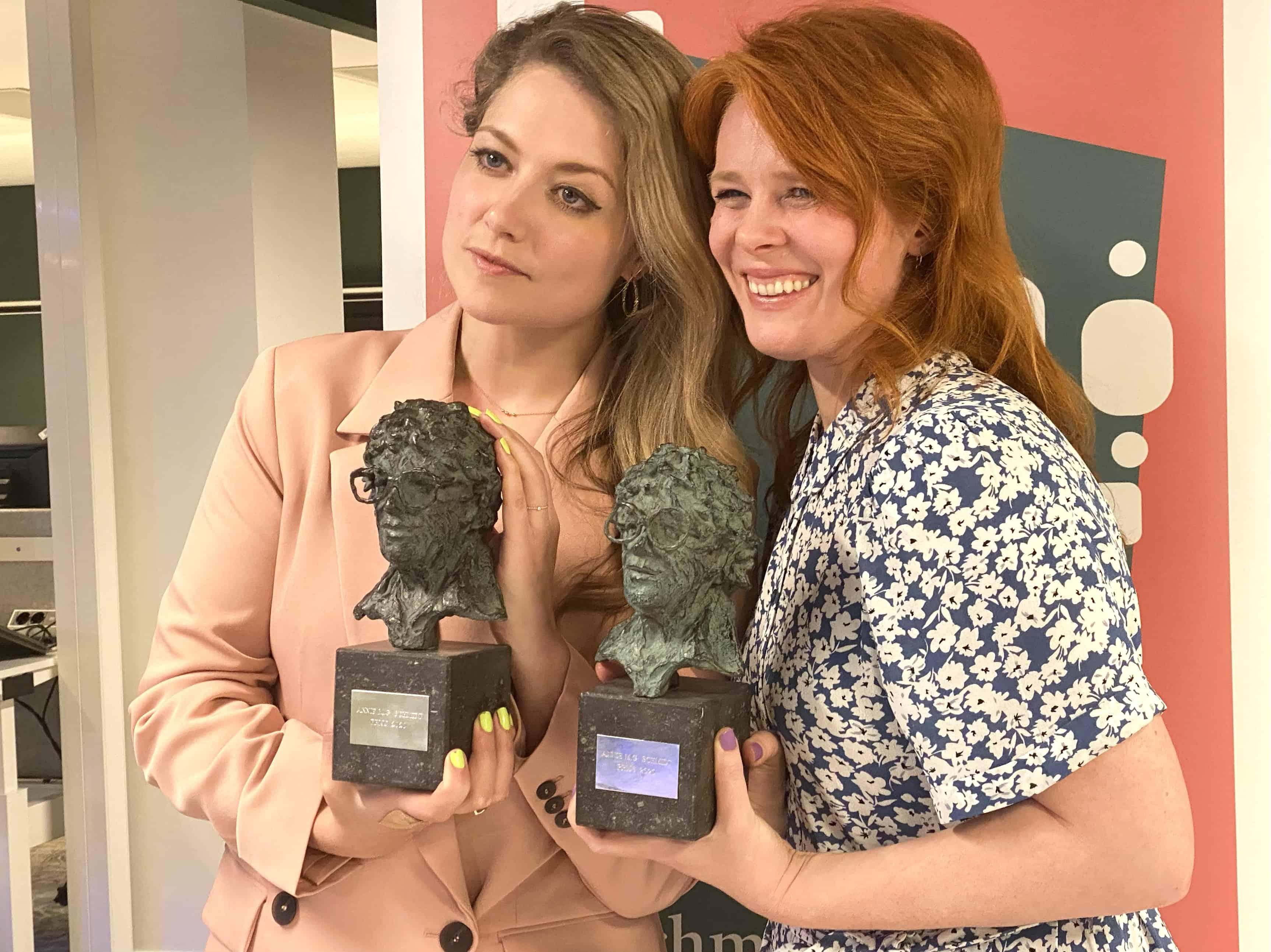 Yentl en de Boer winnen de Annie MG Schmidtprijs 2020